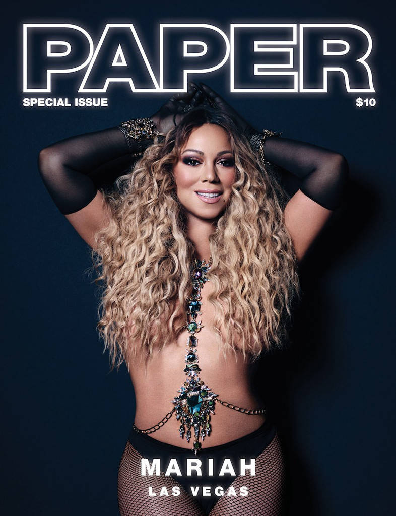 Mariah Carey in topless: i fan